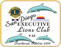 SD Executive Lions Club Logo